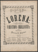 "view ""Lorena"" Sheet Music digital asset number 1"