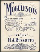 view <i>Mogulesco's for Violin</i> digital asset number 1