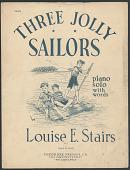 """view """"Three Jolly Sailors"""" Sheet Music digital asset number 1"""