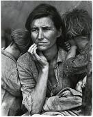 """view """"Migrant Mother,"""" by Dorothea Lange digital asset: Migrant Mother, Nipomo, California, by Dorothea Lange for FSA, 1936"""