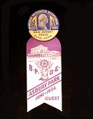view George Washington Bicentennial digital asset: Badge, George Washington Bicentennial, B.P.O.E. Guest