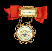 view Independent Order of Odd Fellows badge digital asset: Badge, Independent Order of Odd Fellows