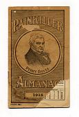 view Painkiller Almanac 1915 digital asset: almanac, Painkiller Almanac 1915, front cover