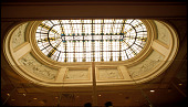 view Skylight and Plaster Panels from RMS <I>Majestic</I> digital asset: Ceiling lantern, S.S. Majestic