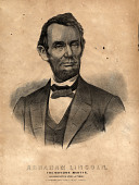 view Portrait of Abraham Lincoln digital asset: Portrait of Lincoln, The Nations Martyr, by Currier & Ives