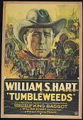 view Tumbleweeds Poster digital asset: William S. Hart Tumbleweeds Poster