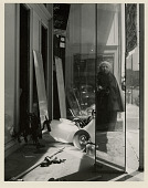 view Self-Portrait on Geary St. San Francisco 1958 digital asset: Photograph by Imogen Cunningham, Self-Portrait on Geary St., San Francisco, 1958