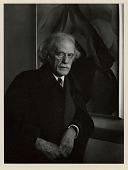 view Alfred Stieglitz 1934 digital asset: Photograph by Imogen Cunningham, portrait of Alfred Stieglitz