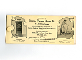 view Syracuse Vacuum Cleaner Co. blotter digital asset: Blotter, Syracuse Vacuum Cleaner