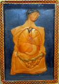view Wax model digital asset: Wax model of a female and organs