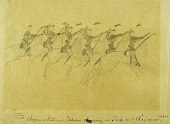 view Cheyenne Pictures. Soldiers Charging on Sioux and Cheyennes. digital asset number 1