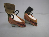 view 1900 Chinese Woman's Slippers for Bound Feet digital asset number 1