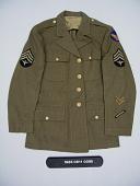 view coat digital asset: Coat, front.