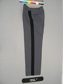 view trousers digital asset: Trousers, left side.