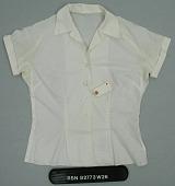 view Blouse; Shirt, Shortsleeves digital asset: Shirt, front.