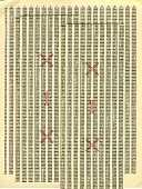 view Mathematical Table, The Macmillan Table Slide Rule digital asset: Mathematical Table - The Macmillan Table Slide Rule - Example Problem View