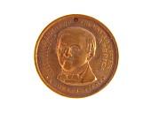 view Samuel J. Tilden Campaign Medal digital asset: medal, presidential