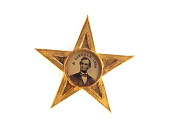 view Abraham Lincoln Campaign Badge digital asset: medal, presidential