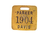 view Presidential Campaign Luggage Tag digital asset: medal, presidential