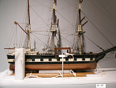 view Ship Model of the Whaling Barque <i>Mary Frazier</i> digital asset number 1