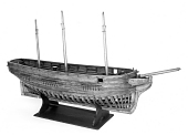 view Model of Three-masted Ship <i>Kate</i> digital asset: ship model, Kate