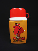 view Fat Albert Thermos digital asset: Peanuts thermos
