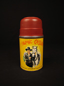 view <i>Hopalong Cassidy</i> Thermos digital asset: Hopalong Cassidy thermos