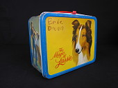 view <i>The Magic of Lassie</i> Lunch Box digital asset: Lassie lunch box