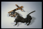 view Cat Marionette used in Baba Yaga show by Molka Reich digital asset number 1