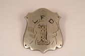 "view Fire Engine Plate, ""L.F.D. 1"" digital asset number 1"