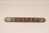 """view Fire Engine Plate, """"Chelsea"""" digital asset number 1"""