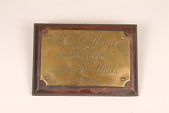 """view Fire Engine Plate, """"Stephen Thayer"""" digital asset number 1"""