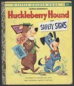 view <i>Huckleberry Hound Safety Signs</i> digital asset number 1