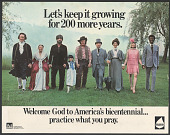 view Welcome God to America's Bicentennial digital asset number 1