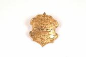 "view Fire Badge ""Philadelphia Fire Insurance Patrol Superintendent"" digital asset number 1"