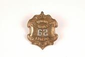 "view Fire Badge ""Philadelphia Fire Insurance Patrol 62"" digital asset number 1"
