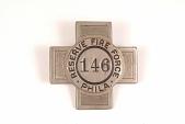 "view Fire Badge ""Philadelphia Reserve Fire Force 146"" digital asset number 1"