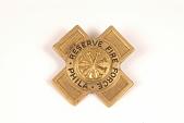 "view Fire Badge ""Philadelphia Reserve Fire Force"" digital asset number 1"