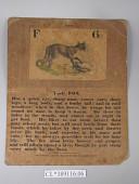 view Infant School Card 6 digital asset: Front.