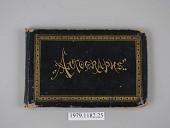 view Autograph Album digital asset number 1