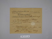 view certificate, military discharge digital asset number 1