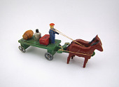 view Horse-Drawn Wagon Toy digital asset number 1