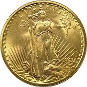 view 20 Dollars, United States, 1907 digital asset number 1