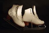 view Figure skates worn by Kristi Yamaguchi digital asset number 1