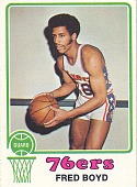 view Fred Boyd Basketball Card digital asset number 1