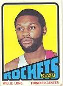 view Willie Long Basketball Card digital asset number 1