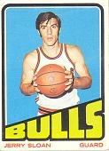 view Jerry Sloan Basketball Card digital asset number 1