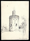 view <i>Torre del Oro, Seville</i> digital asset number 1
