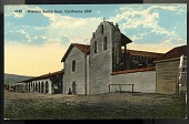 "view Picture postcard, ""Mission Santa Inés, California - 1804"" digital asset number 1"