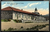 "view Picture postcard, ""Mission San Luis Obispo de Tolosa, California - 1722"" digital asset number 1"